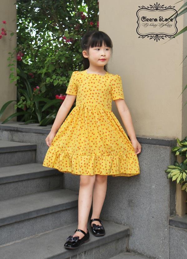 Mẫu váy bé gái đẹp và xinh xắn nhất