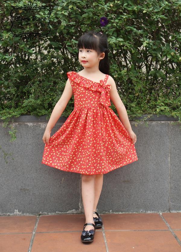 Mách mẹ các cách chọn váy đầm chuẩn đẹp cho bé mũm mĩm